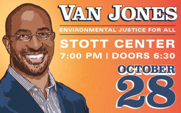 Van Jones at PSU Oct. 28